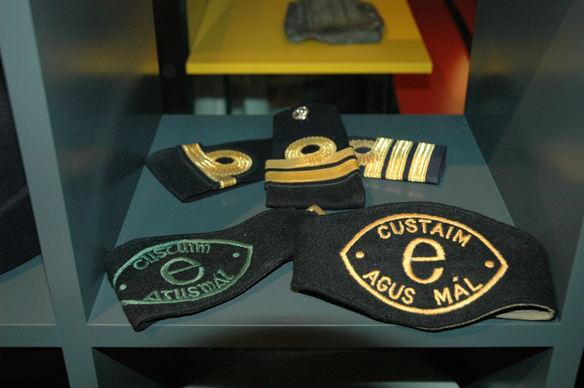 Customs insignia over the years.