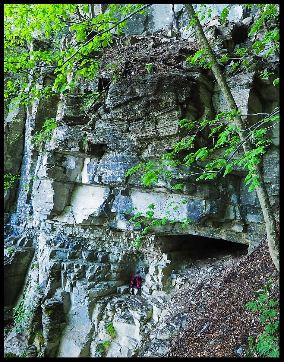 Grotta a Sud della quota 1120 m