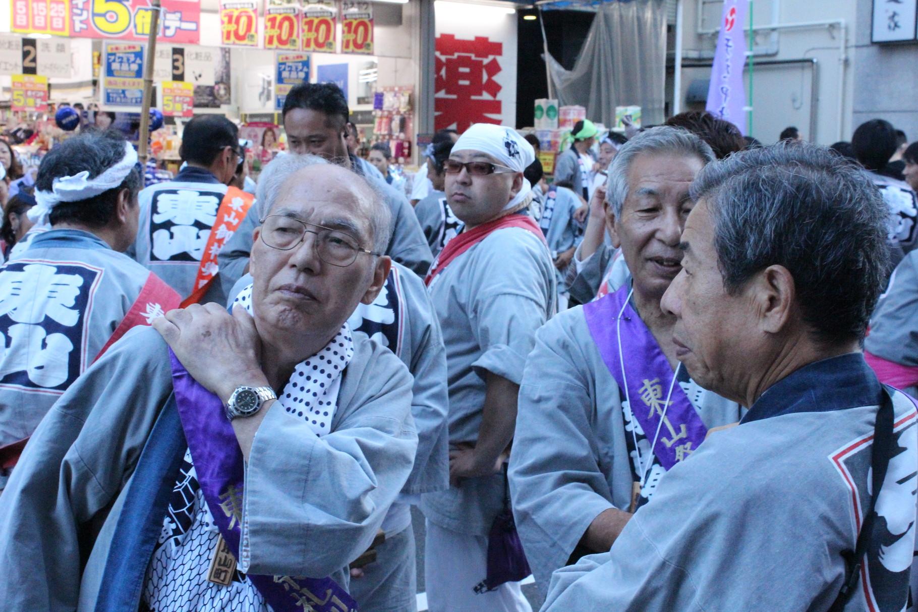Matsuri sind beliebt bei Alt und Jung.