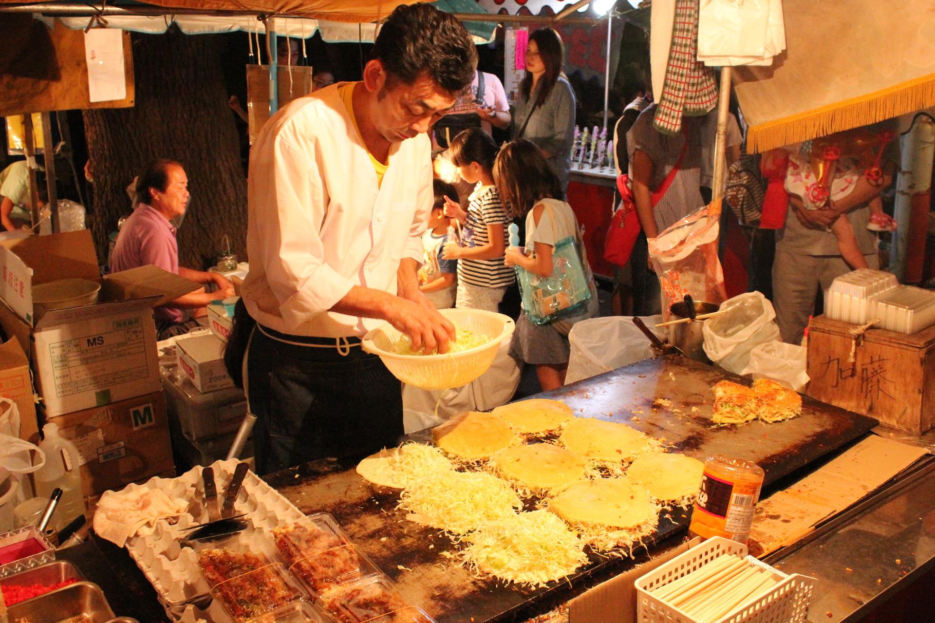 Mehr Leckeres! Wieder eine Art von Okonomiyaki