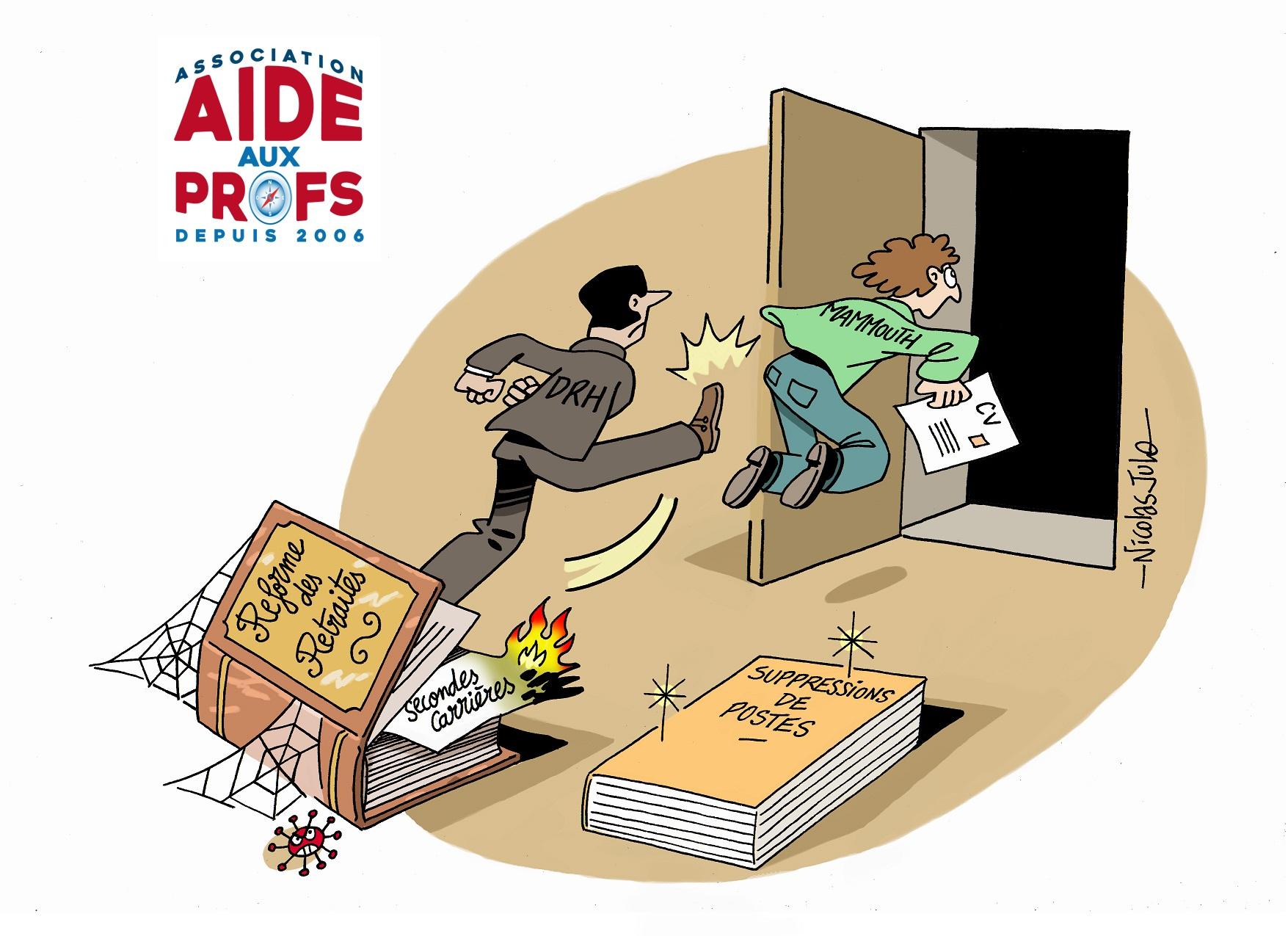 AIDE AUX PROFS cesse d'accompagner les Ruptures Conventionnelles