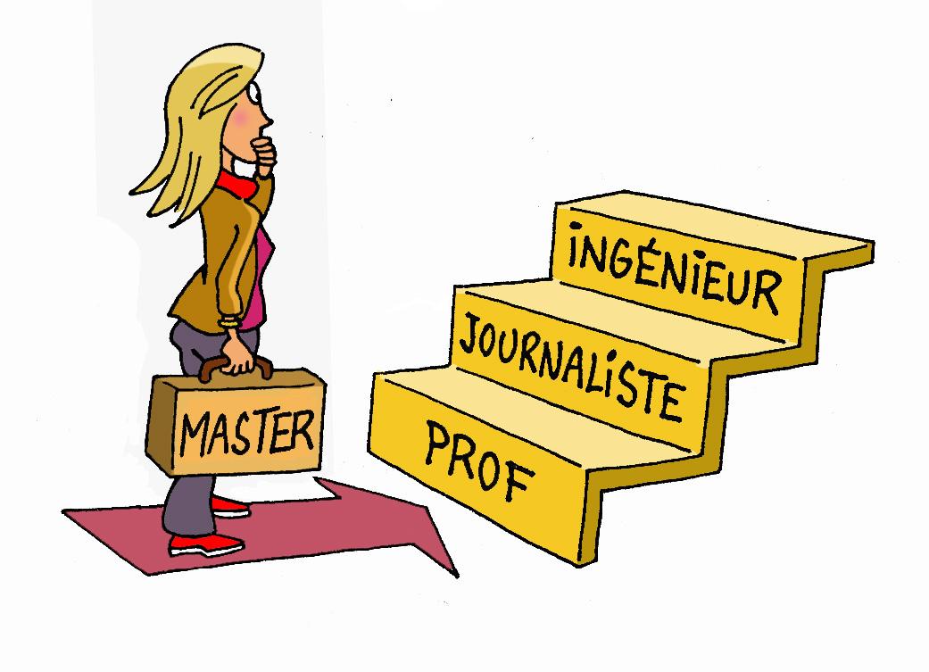 Professeur devient une étape dans un parcours diversifié