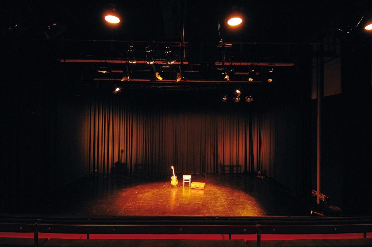 Blick auf die Bühne / Foto: Rudi Ott