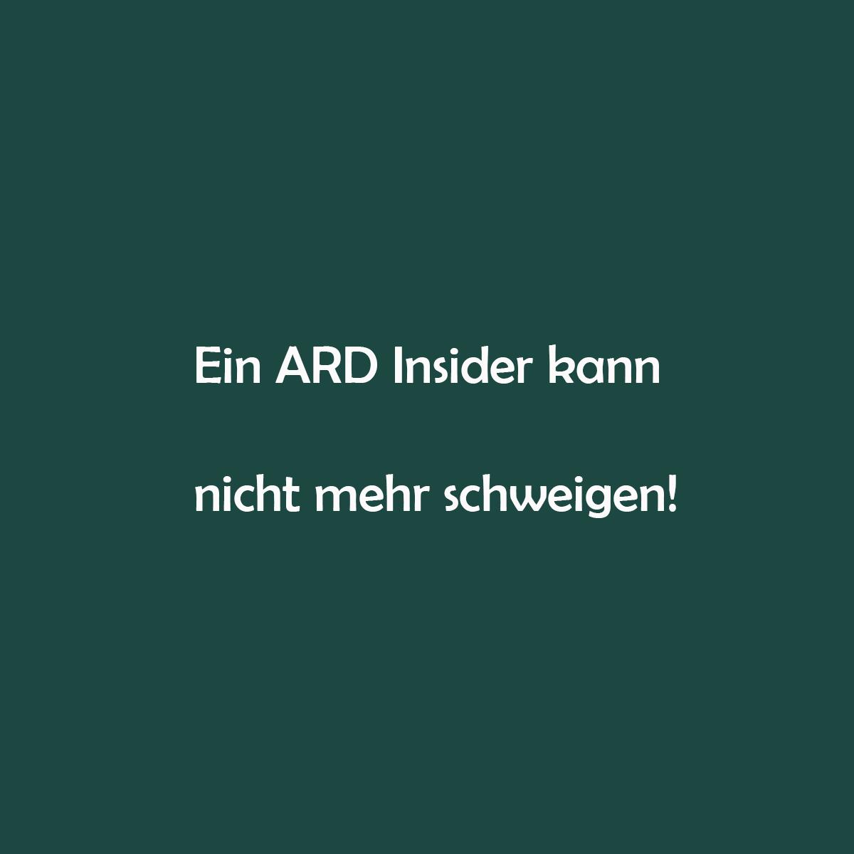 """Offener Brief eines ARD-Mitarbeiters: """"Ich kann nicht mehr schweigen"""""""