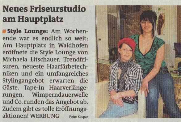 Bezirksblätter Waidhofen/Ausgabe 17/2012