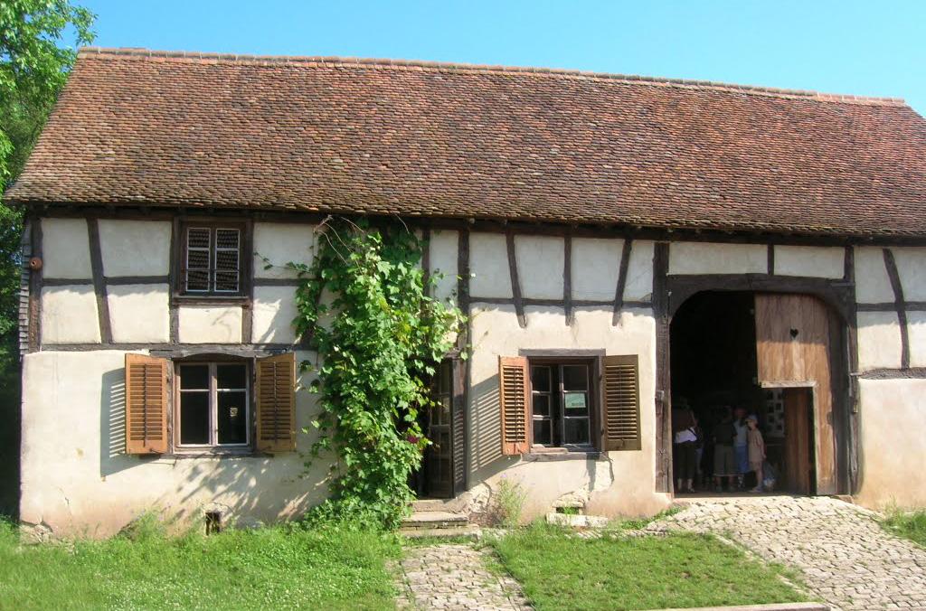 La Maison à pan de bois
