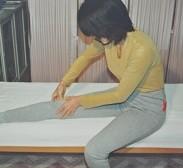 ひざ押圧の写真