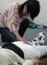 膝治療の写真