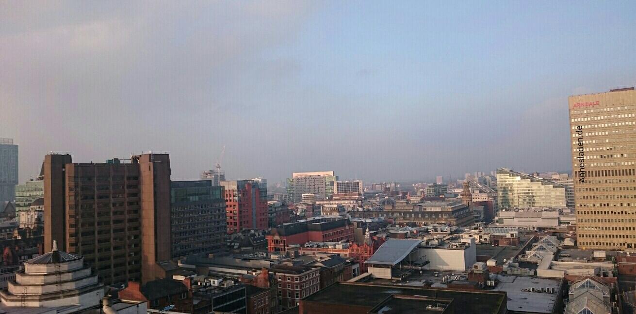 Aussicht am Morgen, Manchester
