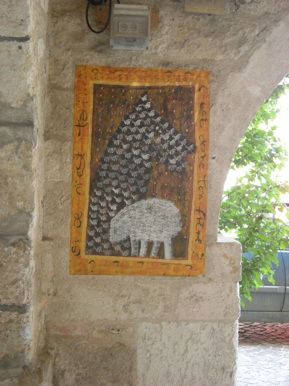 Le loup et l'agneau - Florence Racine