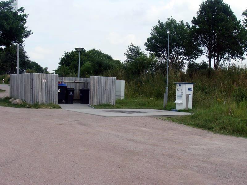Müllstation und VE