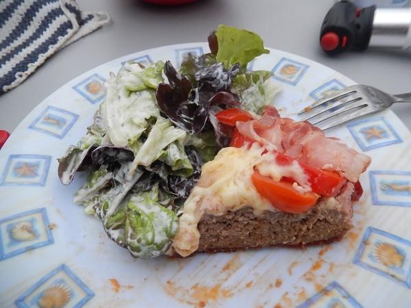 mit einem, von Britta gemachten, Salt geht das kulinarischer Vergnügen weiter