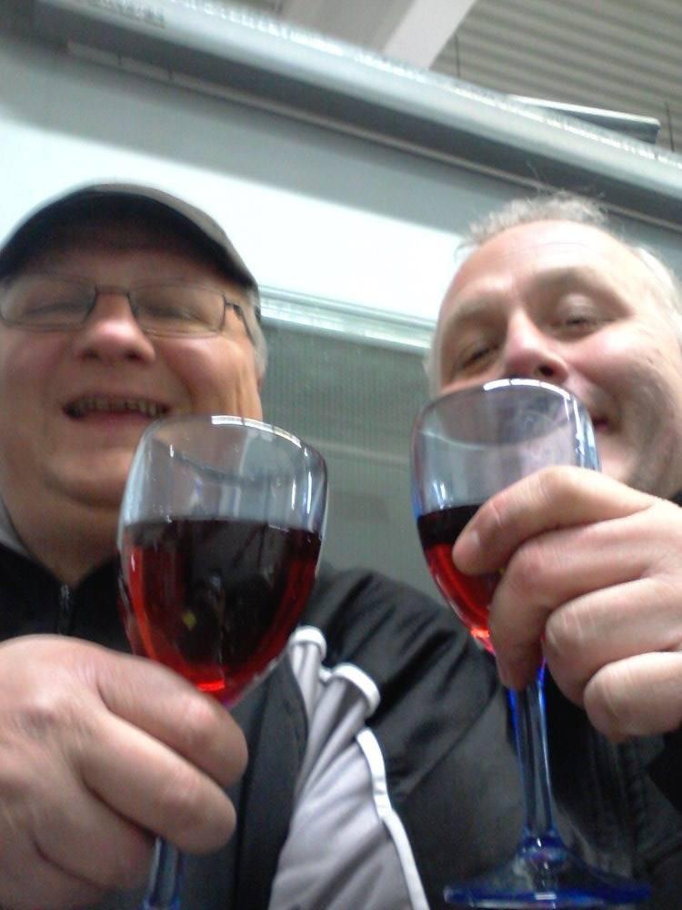 Jetzt haben wir uns aber ein Weinchen verdient