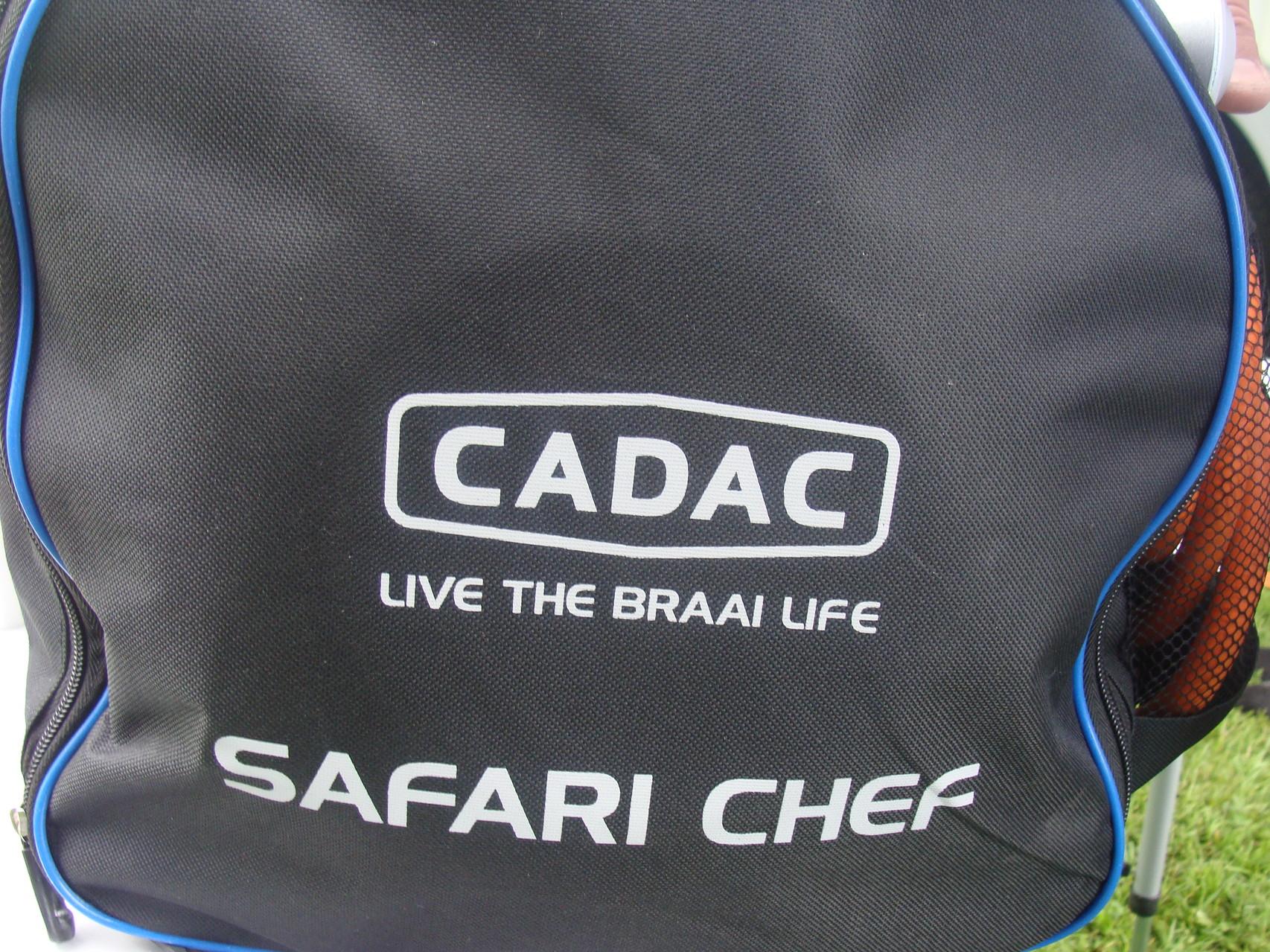 Ordentlich verpackt ist der Cadac Safari Chef
