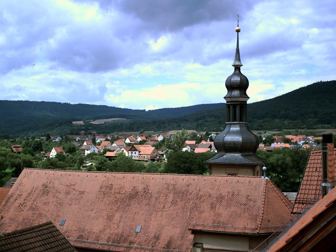 Über den Dächern der Stadt......