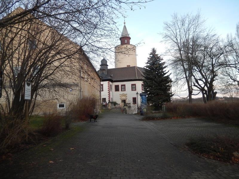 Die Burg bei Tageslicht