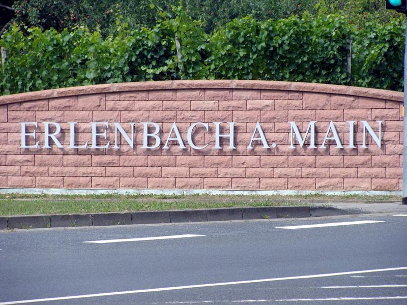 Inzwischen haben wir Erlenbach erreicht.