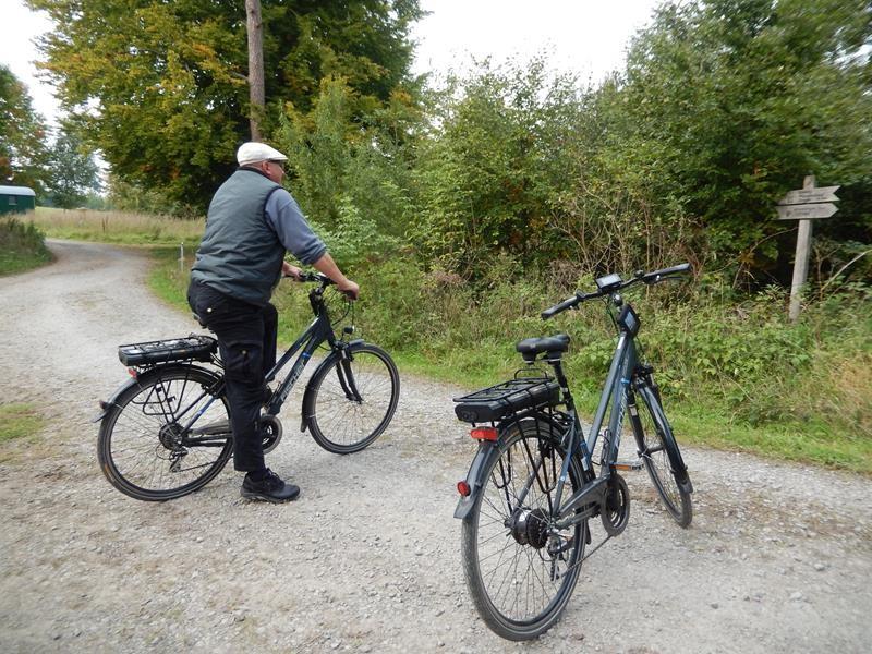 Am nächsten Tag wieder eine Radtour