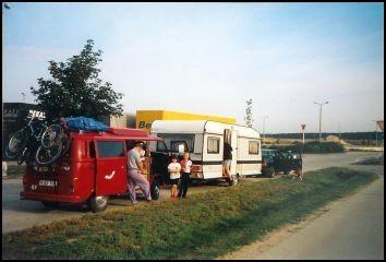 Auf dem Weg nach Rügen mal eine kleine Rast.