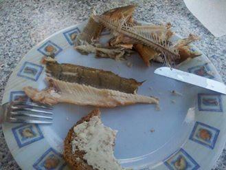 Wie Ihr sehen könnt hat es wirklich gut geschmeckt. Katrin B. isst kein Fisch und Frank B. hat doch etwas davon probiert
