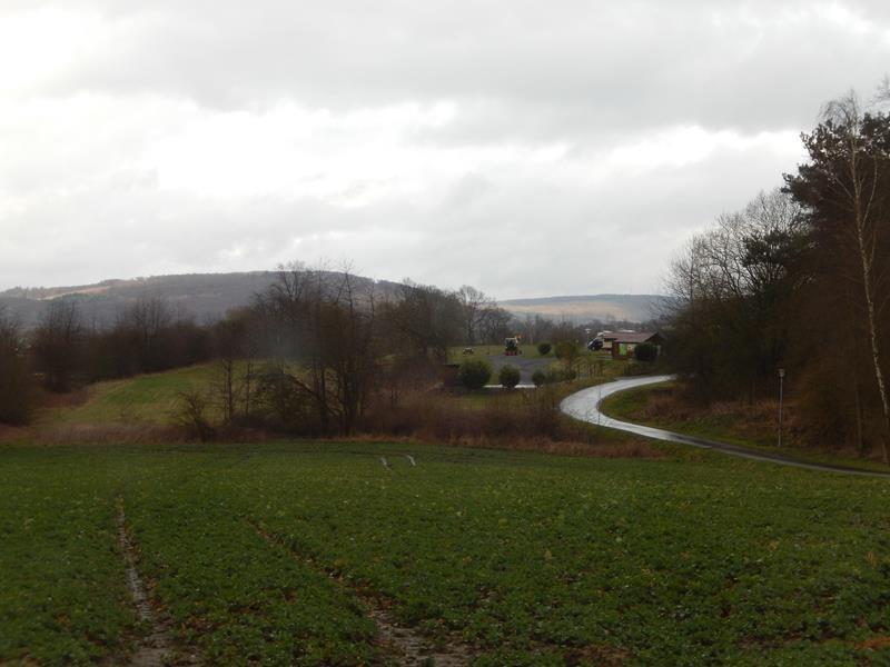 Auf dem Weg kurzer Abstecher in Frielendorf auf den Stellplatz am Silbersee