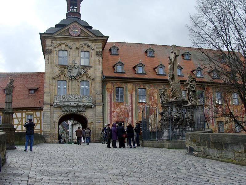Das alte Rathaus.