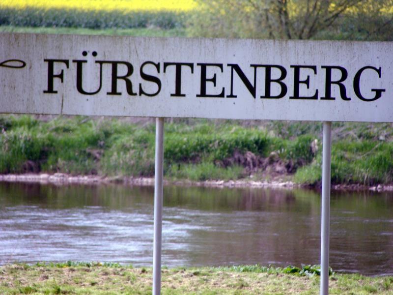 Bis Fürstenberg sind wir schon mal gekommen.....