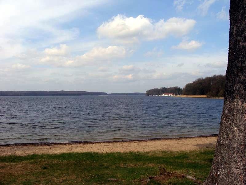 Der See ist echt riesig.