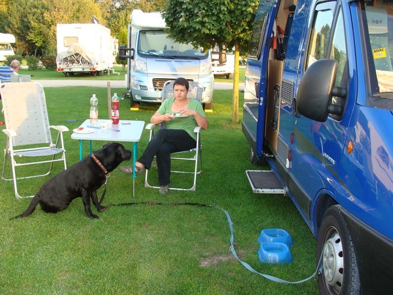 Nach der Veranstaltung sind wir noch nach Fuestrup zum Camp Marina gefahren.
