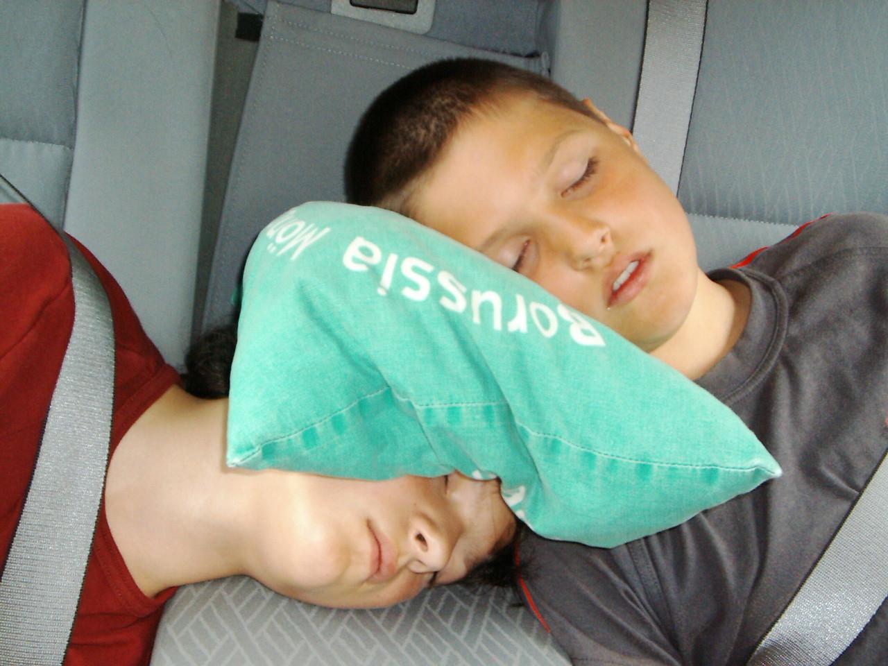 ....und die Kinder haben lange und gut geschlafen. :)