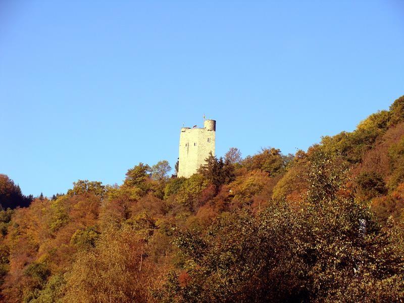 Der Turm von unten