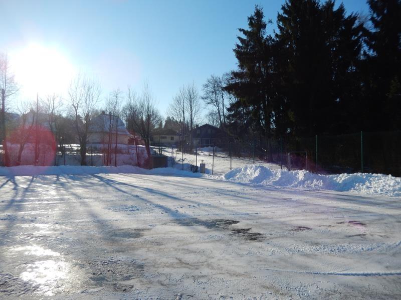 Inzwischen wurde auch der Stellplatz vom Schnee geräumt