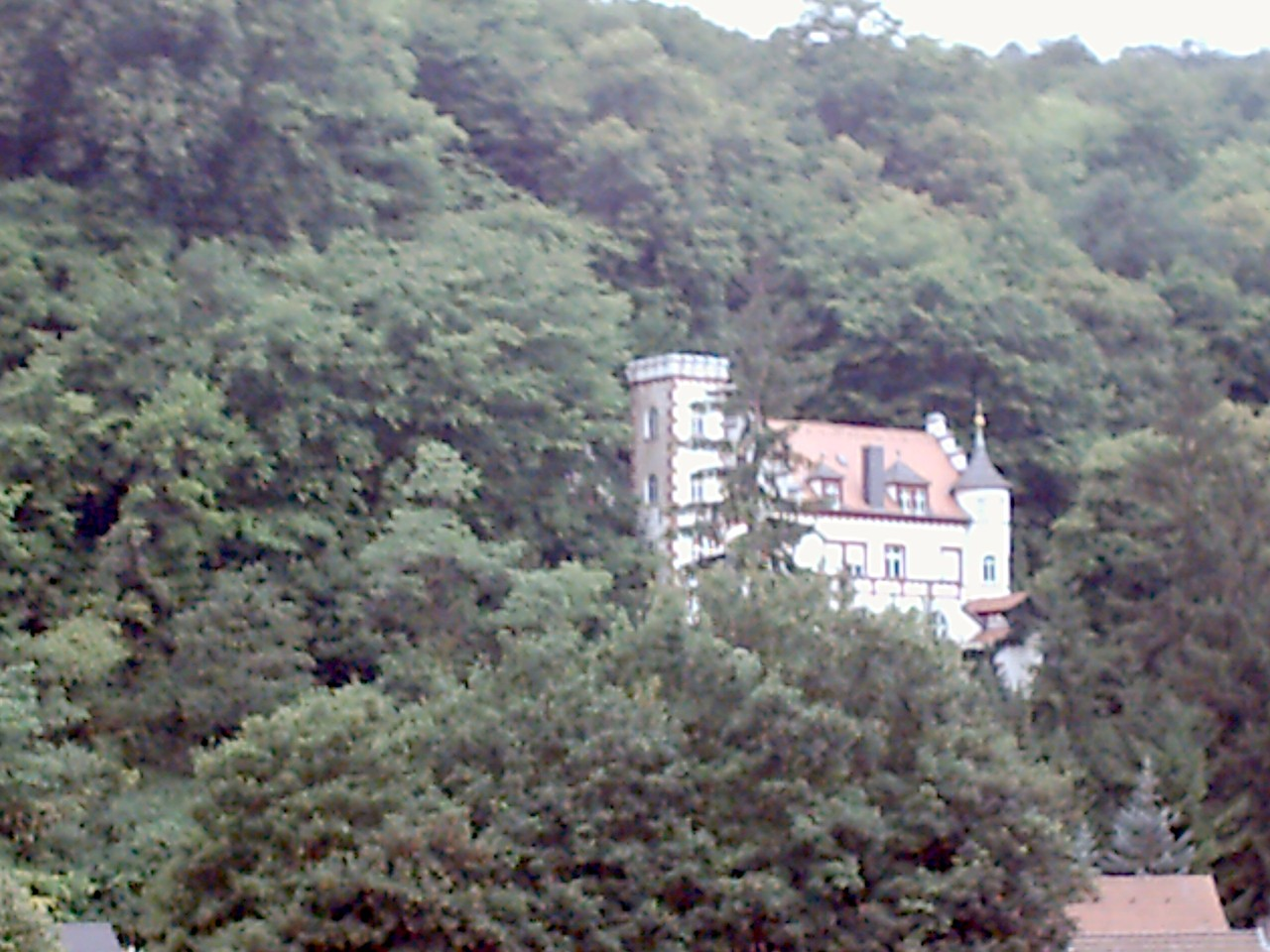Auch ein prächtiges Gebäude, aber nicht die Burg.