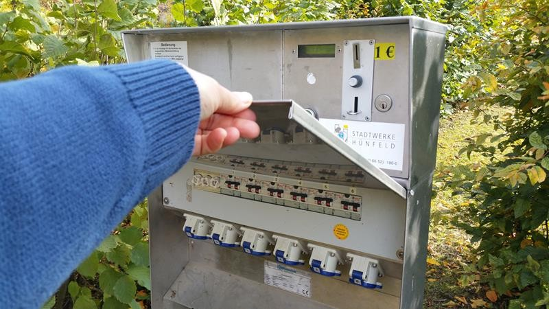 Strom ist auch da