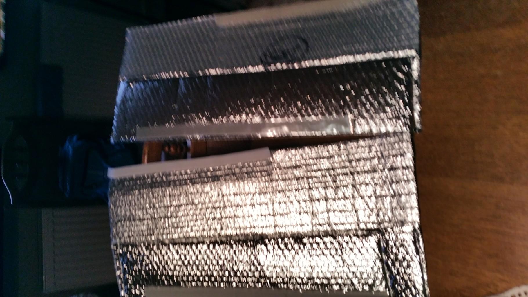 einfaches Isoliermaterial hat mir Britta passend genäht