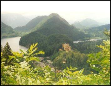 Herrlicher Blick vom Tegelberg in Tal.