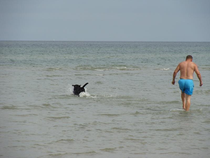 Ich war übrigens auch schwimmen - nur mal so erwähnt ;))