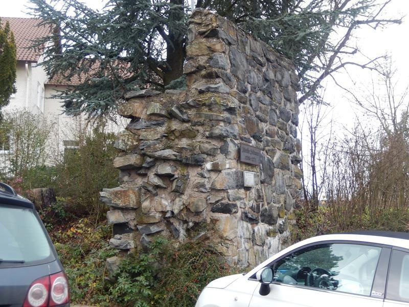 Noch ein Stück Mauer