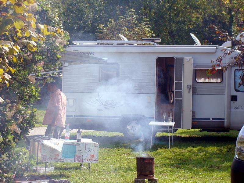 ...wie war das? Am Anfang war das Feuer....oder doch eher viel Qualm?