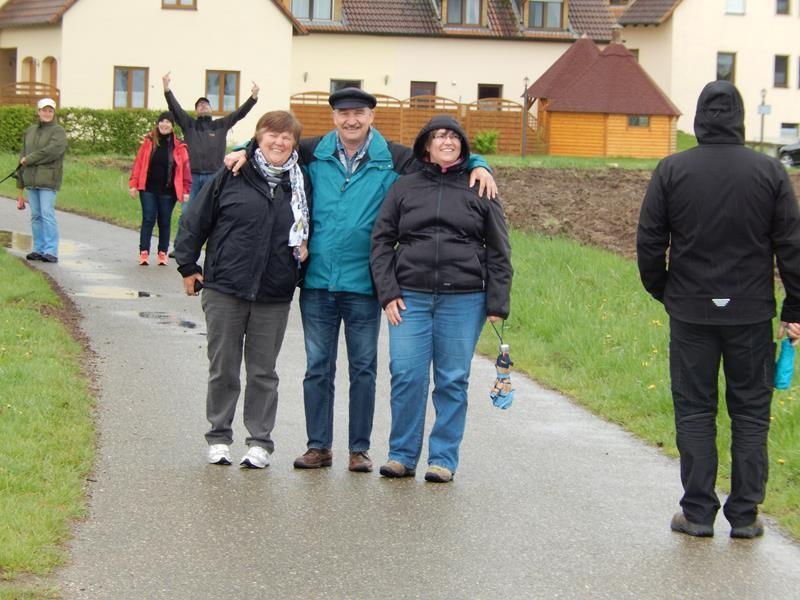 Wir machen uns auf den Weg nach Gunzenhausen. Bisschen die Beine vertreten.