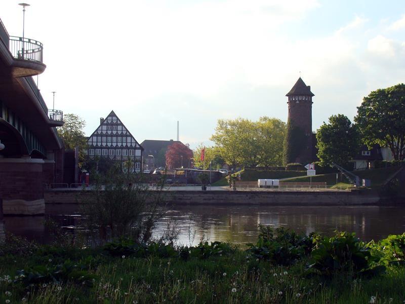 Auf der anderen Seite der Weser