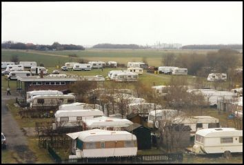 Der Campingplatz in Upleward