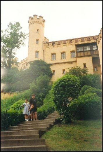 Auf zum Schloss Hohenschwangau.