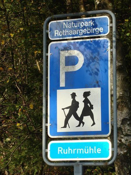 Auf dem Weg nach Bad-Rothenfelde machen wir hier Rast.