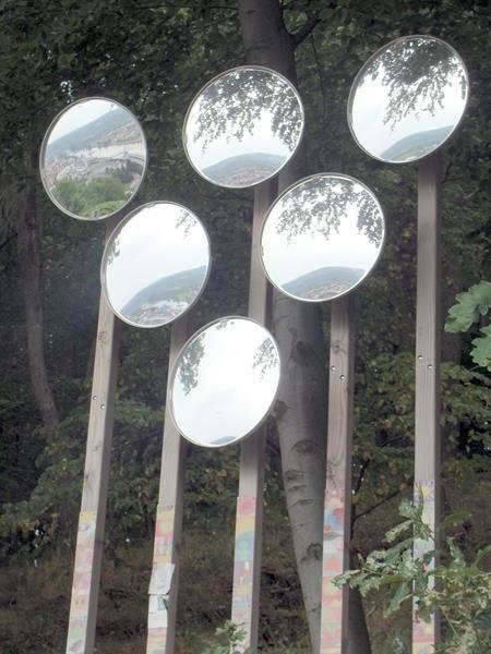 Spiegelobjekt Sonnentraube