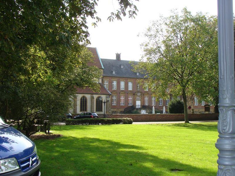 Mit Klaus besuchen wir das Kloster Marienfeld