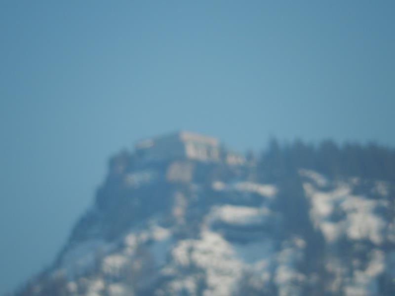 Hoch oben auf dem Berg....