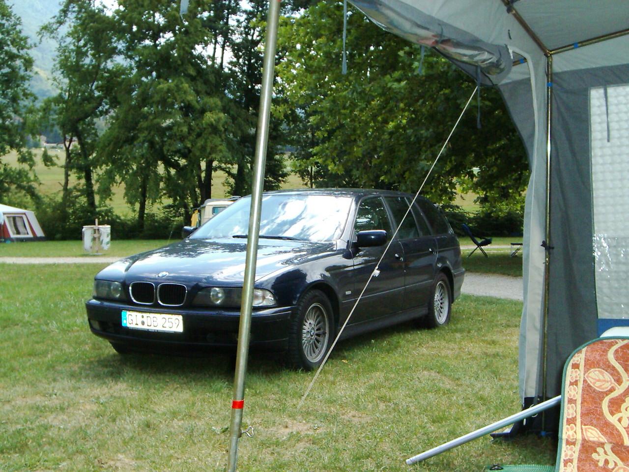 Der Campingplatz ist übrigens in St. Jean de Chevelue