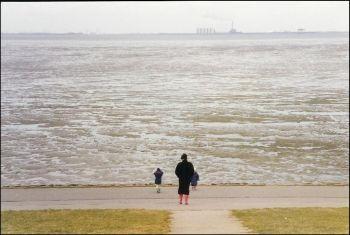 Die Nordsee.....hurra, das Wasser ist da.