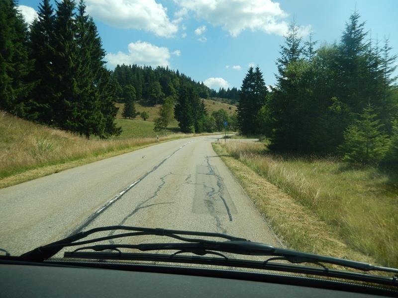 Auf dem Weg nach Unterkirnach